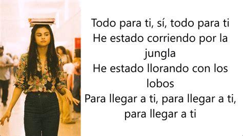 Selena Gomez, Marshmello   Wolves  Letra en español    YouTube