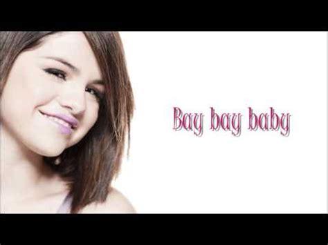 Selena Gomez Naturally Lyrics!   YouTube