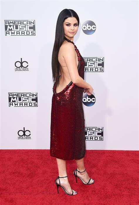 Selena Gomez – 2015 American Music Awards Red Carpet – Red ...