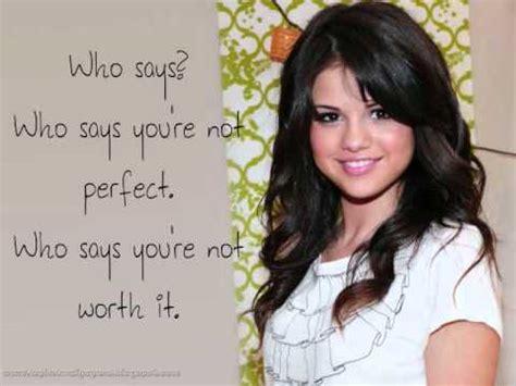 Selena Gomez Who Says  Acoustic  with lyrics   YouTube