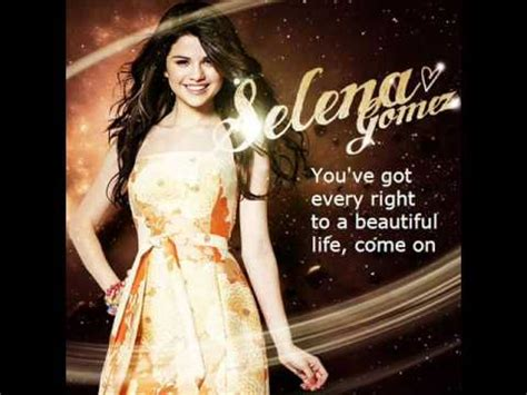 Selena Gomez Who Says Lyrics   YouTube