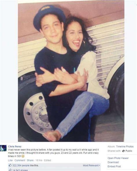 Selena Quintanilla's widower reveals never-before-seen ...