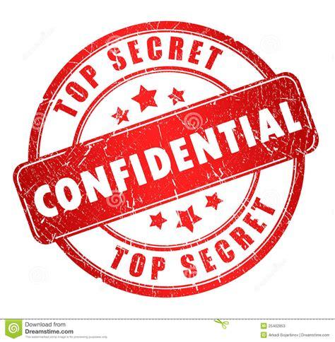 Sello confidencial stock de ilustración. Ilustración de ...