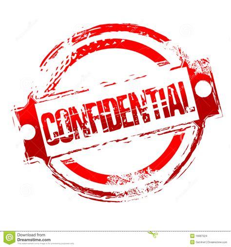 Selo Confidencial Sujo Imagens de Stock   Imagem: 16687524