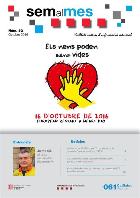 SEM AL MES octubre 2016 by Sistema d Emergències Mèdiques ...