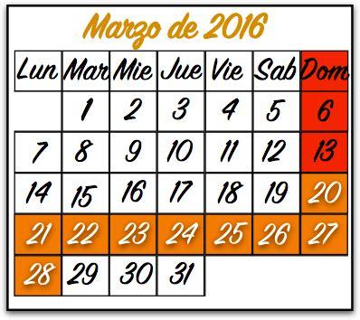 Semana Santa 2018   CalendarioLaboral.com.mx