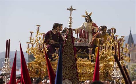 Semana Santa de Málaga: Itinerarios de las procesiones del ...