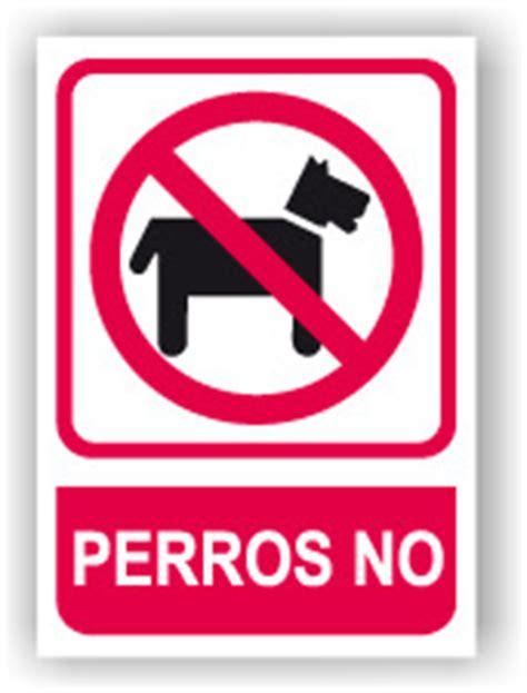Señal   Cartel   Rotulo Perros No SEPR0015   Placas para ...