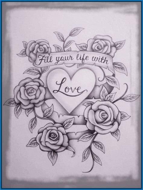Dibujos De Corazones De Amor Seonegativo Com
