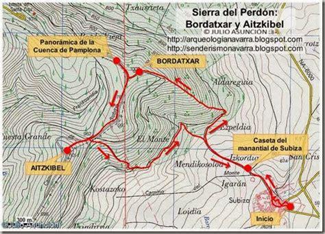 Senderos y montañas de Navarra: Mapa y soporte gps ruta ...