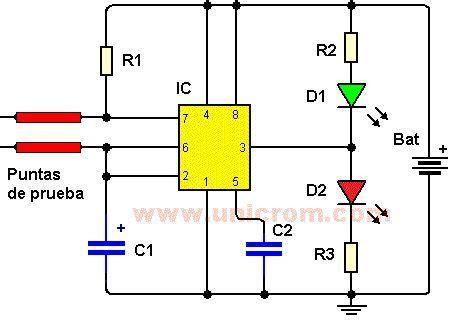 Sensor de humedad (Diagrama+video) - 1 CI 555 - 3 ...