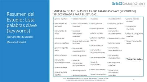 SEOGuardian   Instrumentos Musicales en España