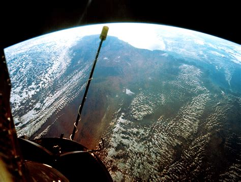 Sept. 14, 1966 - View From Gemini XI, 850 Miles Above the ...
