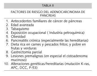 SERAM 2012 / S-0769 / Adenocarcinoma de páncreas con ...