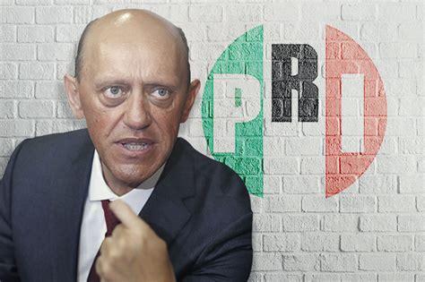 Seré candidato del PRI en 2018 y no veo a otro aspirante ...