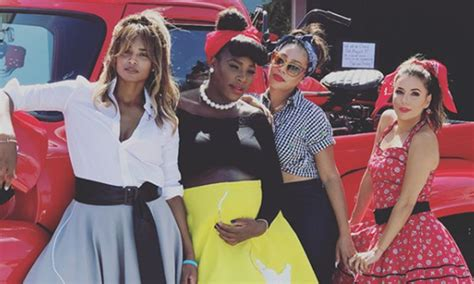 Serena Williams' 50s-themed baby shower – all the photos