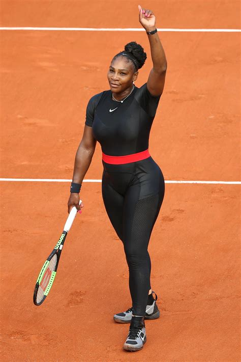 Serena Williams' Catsuit at the French Open Has a Powerful ...