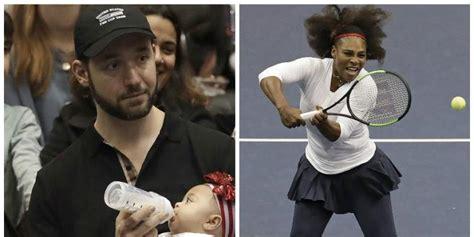 Serena Williams: esto es lo que hace su esposo mientras ...