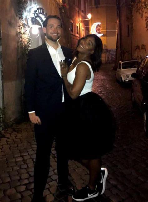 Serena Williams y su marido, Alexis Ohanian   Loc ...