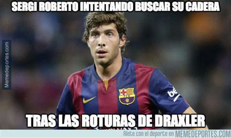 Sergi roberto trying to find his hips after being ...