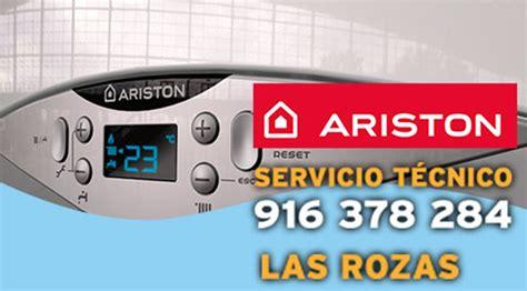 Servicio Técnico Calderas Ariston en Las Rozas de Madrid
