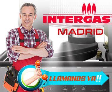 Servicio Técnico Calderas Intergas en Madrid 91 637 82 84