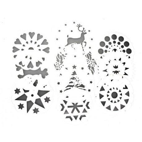 Set 10 Plantillas para Decorar / Stencil Para Decorar ...