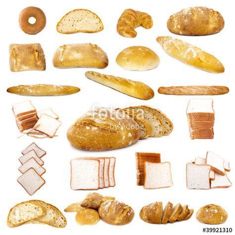 set de tipos de pan diferentes  Fotos de archivo e ...