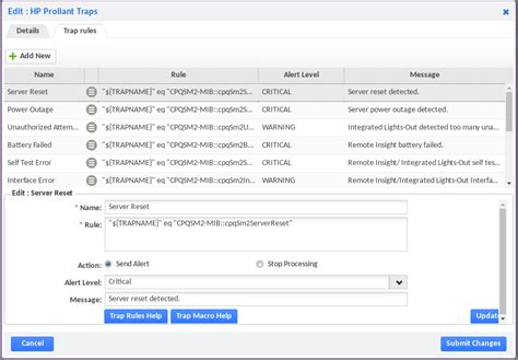 Setting up SNMPv3 Traps, SNMP Monitoring | Opsview