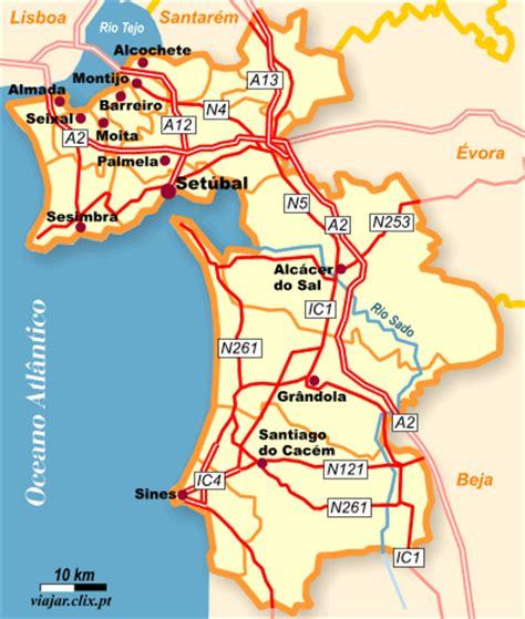 Setubal Haritası