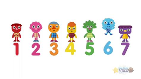 Seven Steps Numbers Song Super Simple Songs - YouTube