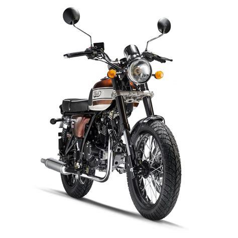 SEVENTY FIVE 125 cc Brown   Mash Motors
