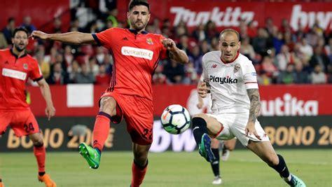 Sevilla   Real Sociedad: la Liga Santander de fútbol, hoy ...