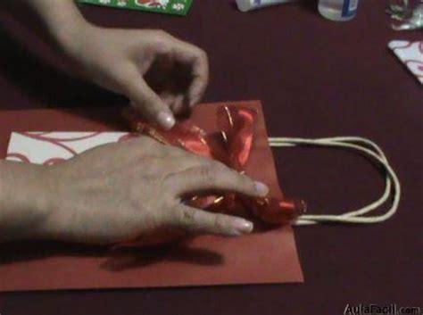 ⏩Finalizamos la elaboración del envoltorio de papel con ...