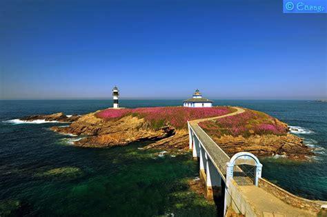 Sfondi : primavera, faro, mar, Europa, fiore, Galizia ...