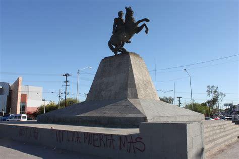 """Grafitean"" monumento a Vicente Guerrero; exigen justicia ..."