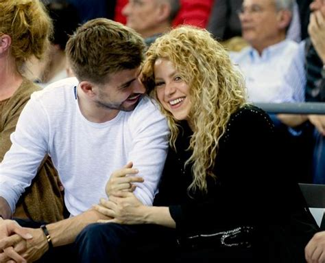 Shakira and Gerard Pique look so loved-up as they enjoy ...