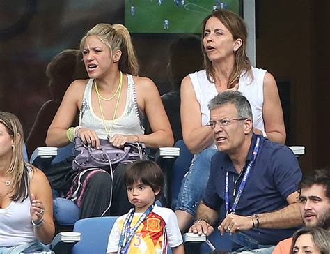 Shakira and sons feel Gerard Pique's pain as Spain bow out ...