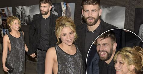 Shakira sparkles as she ditches her bra and cosies up to ...