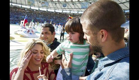 Shakira y Gerard Piqué derrocharon amor en el Maracaná