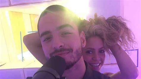 Shakira y Maluma anuncian colaboración musical  FOTOS ...