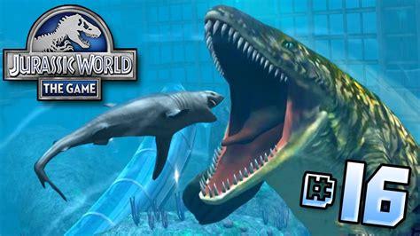 Shark Vs Mosasaur! || Jurassic World   Lagoon Series   Ep ...