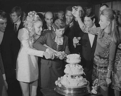 Sharon Tate and Roman Polanski cut their wedding cake at ...