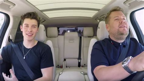 Shawn Mendes  Carpool Karaoke   Watch Video  | Hollywood ...
