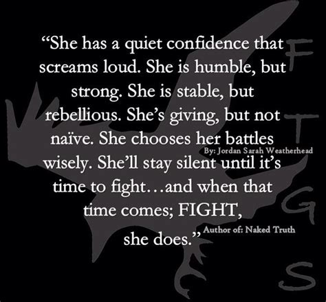 She has a quiet confidence | Sayings | Pinterest ...