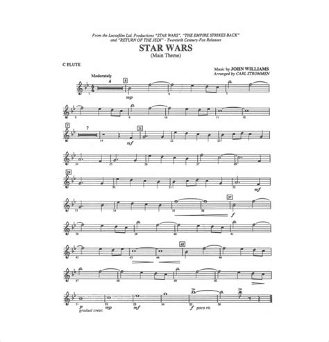 Sheet Music Template – 9+ Free Word, PDF Documents ...