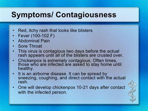 Shingles Symptoms Contagious