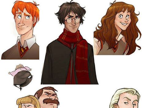 Si Harry Potter hubiera sido una animación de Disney ...