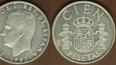 Si tienes una de estas monedas de peseta puedes venderla ...
