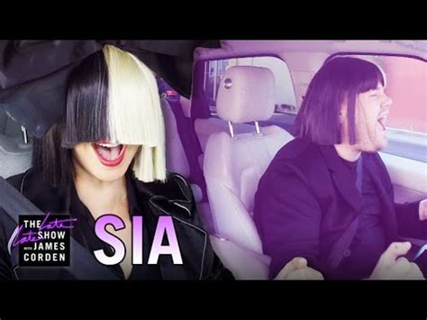 Sia Carpool Karaoke   YouTube